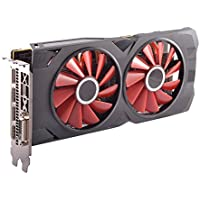 XFX -AMD Radeon RX 570 4GB GDDR5 PCI Express 3.0 Graphics Card (Black)