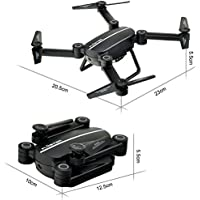 Skyhunter RC Quadcopter Drone with WiFi 720P HD Camera Live Video, 2.4GHz 4CH 6-Axis Gyro APP Control FPV Drone with Altitude Hold, Gravity Sensor and Headless Mode Function with 3 Batteries
