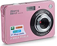 "AbergBest 21 Mega Pixels 2.7"" LCD Rechargeable HD Digital Camera Video Camera Digital Students Cameras,In"