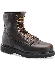 Mens Carolina 8 Steel Toe Boots, Briar