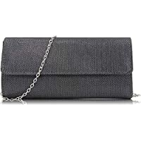 Milisente Women Clutches Elegant Sequins Evening Bag Chain Clutch Purse