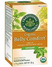 Traditional Medicinals Organic Belly Comfort Peppermint, 20 tea bags