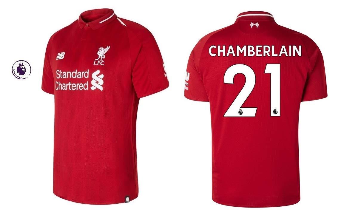 FC Liverpool Trikot Kinder 2018-2019 Home PL - Chamberlain 21