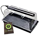 """Super Sprouter Deluxe Propagation Kit w/ 7"""" Dome & T5 Light"""
