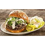 Tofurky Bulk Mighty Mushroom Burger, 3.5 Ounce - 30 per case.