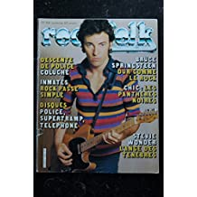 ROCK & FOLK 166 COLUCHE INMATES POLICE SUPERTRAMP TELEPHONE STEVIE WONDER BRUCE SPRINGSTEEN