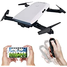 [Patrocinado] Drone With Camera Live Video, EACHINE E56 WIFI FPV Quadcopter With 2.0MP 720P HD Camera Gravity Sensor Mode Altitude Hold RC Foldable Selfie Pocket Drone APP Control RTF