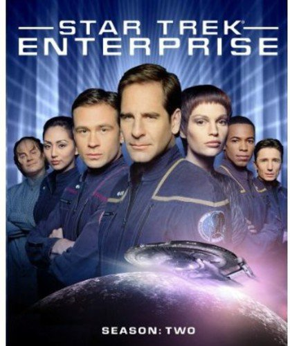 Blu-ray : Star Trek: Enterprise - The Complete Second Season (Boxed Set, , Widescreen, Dubbed, Sensormatic)