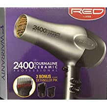 Kiss red 1900 tourmaline blow dryer, 1 Count