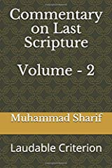 Commentary on Last Scripture: Laudable Criterion (Part 4 to 7) Paperback