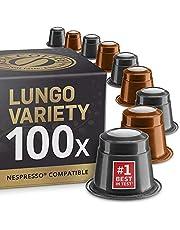 100 Ekologiska Nespresso-kompatibla kapslar - Real Coffee kaffekapslar