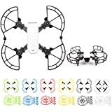 Drone Fans Spark 1 set Propeller Guards s Blade Protectors + 1 set Landing Gear Stabilizers Legs Extender Kit Propeller Bumpers Combo for DJI SPARK Drone