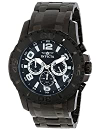 Invicta Men's 15025 Pro Diver Analog Display Japanese Quartz Black Watch