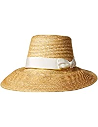 Womens Layla Fine Milan Sunhat Packable, Adjustable and UPF Rated