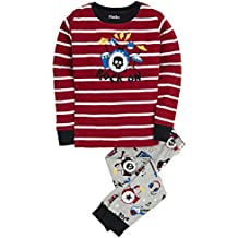 Hatley Little Boys' Pajama Set Applique -Rock Band