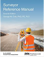 PPI Surveyor Reference Manual, 7th Edition – A Complete Reference Manual for the PS and FS Exam