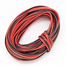 22awg Extension Cable Wire Cord for Led Strips Single Colour 3528 5050, 2 Pin Red/Black Hookup DC Wire 12V, Can Lighting Inc, LED wholesaler (10M 32ft)