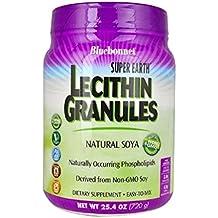 Bluebonnet Super Earth Lecithin Granules, Natural Soya, 25.4 oz