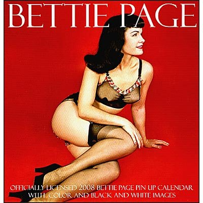 up Bettie page pin