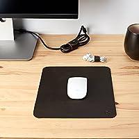 Mouse Pad Kit De Piel Marrón + Organizadores Para Cables, Accesorios Para Escritorio Y Oficina, Regalo Para Novio, Regalo Para Hombre, Regalo Para Aniversario, Monograma Personalizado // MOUSE PAD JUMBO MARRÓN