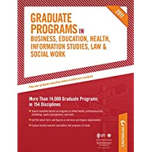 Peterson's Graduate Programs in Health-Related Professions 2011: Sections 27-31 of 44