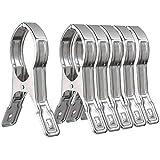 6 Packs WEBI Double Strong Jumbo Stainless Steel