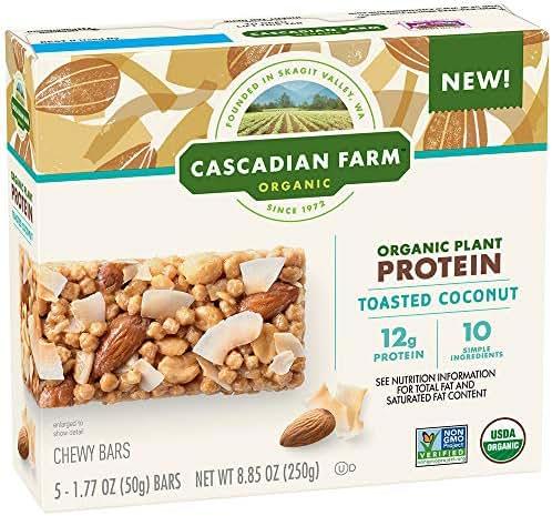 Granola & Protein Bars: Cascadian Farms Protein