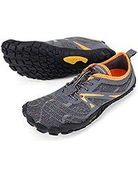 Men's Minimalist Trail Running Shoes Barefoot | Wide Toe | Zero Drop