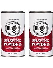 Magic Red Shaving Powder 4.5oz. X-Strength Depilatory (2 Pack)