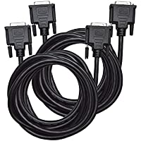 Direct Access Tech. Dual Link DVI-D to DVI-D Cable (10'/3 m) - Two Pack (D0226)