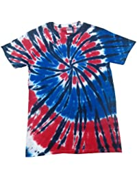 Patriotic Tie Dye T-Shirts Youth & Adult
