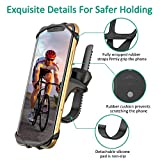 Bovon Bike Phone Mount, 360°Rotatable Adjustable