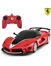 Ferrari Toy Car | RASTAR 1/24 Ferrari FXXK EVO Remote Control Car for Kid Boys Adults - RED