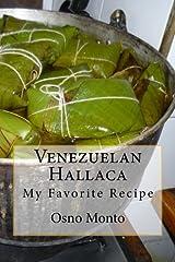Venezuelan Hallaca: My Favorite Recipe (Mi Receta Favorita) (Volume 1) Paperback