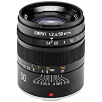 HandeVision IBERIT 50mm f/2.4 Lens for Fujifilm X - Black