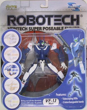 Robotech VF-1J Max Sterling Veritech Super Poseable Action Figure by Toynami