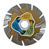 Baoblaze Angle Grinder Grinding Stone Brick Concrete Ceramic Tiles Diamond Dry Cutting Disc 4.5 Inch