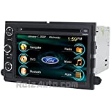 2006-2010 Ford Explorer 2007-2011 Sport Trac 2007-2014 Expedition In-Dash GPS Navigation DVD CD Stereo Bluetooth Hands-free A2DP Music Streaming FM AM Radio USB MP3 SD AV Receiver Steering Wheel Controls iPod Ready Touch Screen Multimedia Player Deck