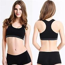 HANYI Women Athletic Vest Gym Fitness Sports Yoga Stretch Bra
