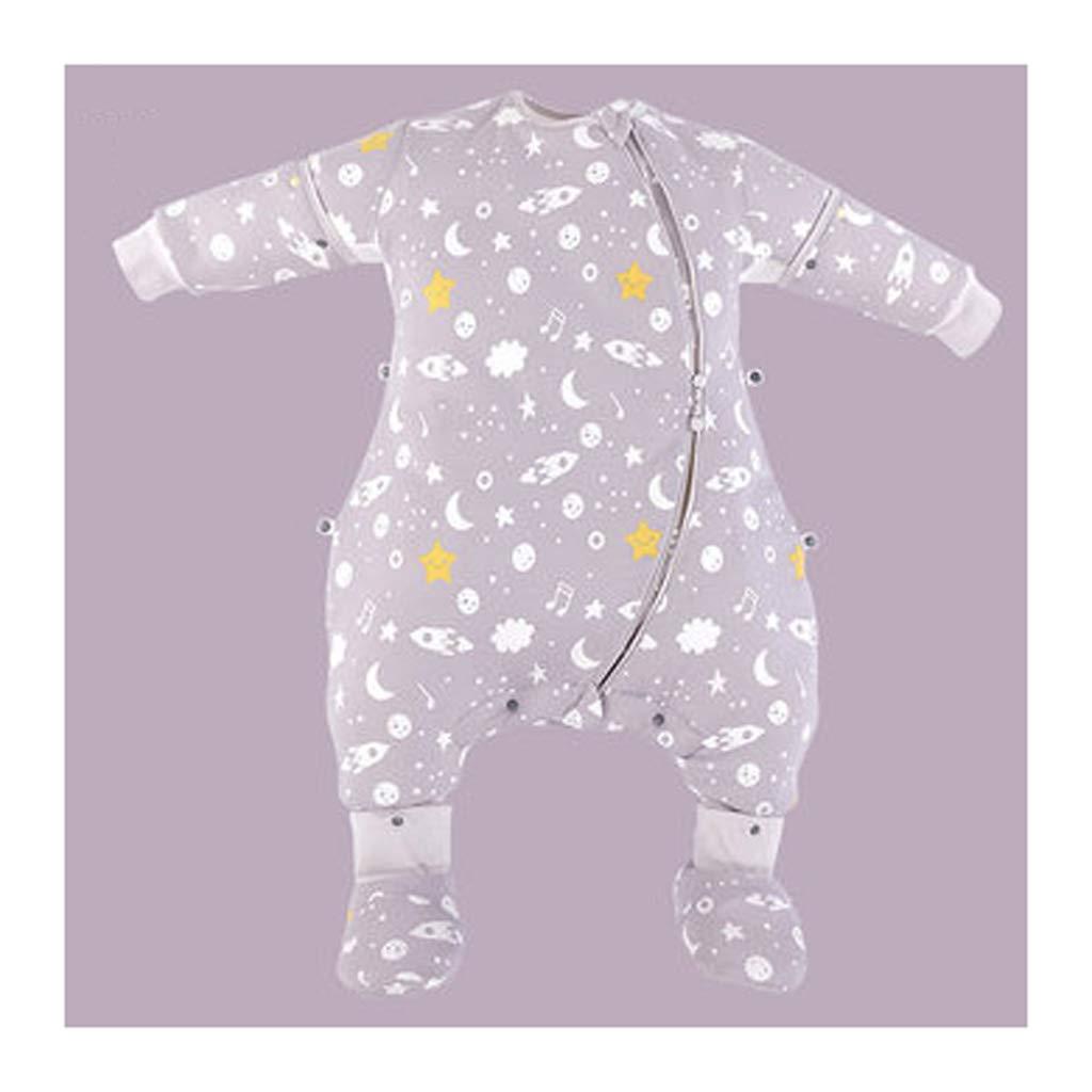 saludable Saco de dormir para niños Wolaoma Saco de Dormir para para para bebés Otoño e Invierno Saco de Dormir Anti-Patada Grandes (Color : C, Tamaño : 90cm)  barato y de alta calidad