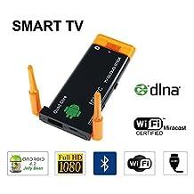 Urant J22 Mini PC Stick Android 4.2/4.4 Multimedia TV Cloud RK3188T CPU Bluetooth 1080P HDMI 2G/8G Quad Core A9 Processor Support 802.11b/g/n Wifi