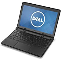 Dell 11-3120 Intel Celeron N2840 X2 2.16GHz 4GB 16GB SSD 11.6, Black (Certified Refurbished)