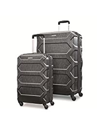 Samsonite Magnitude Lx 2 Piece Nested Hardside Set (20/Spinner 28), Black