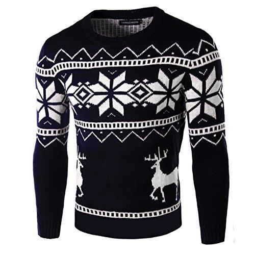 ZHUDJ Einen Pullover_Rollkragen Pullover Slim Größe: M, L, XL, XXL