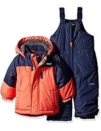 OshKosh baby-boys Baby Infant Heavyweight 2 Pc Colorblock Snowsuit