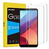 LG G6 Screen Protector, SPARIN [2 Pack] 9H Hardness Tempered Glass Screen Protector for LG G6 / LG G6 Plus with [Ultra Clear][Bubble Free] [Anti-Scratch] [Shock Absorption]