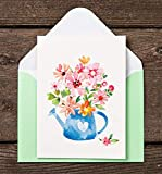 Blank Cards with Envelopes - 48 Floral Blank Note