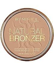 Rimmel London - Natural Bronzer Waterproof Bronzing Powder , Sun Shine - 020, 14 g (Pack of 1)