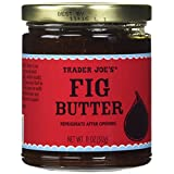 Trader Joes Fig Fruit Butter 11 Oz / 312 G Delicious on Toast or with Cheese by Trader Joe's