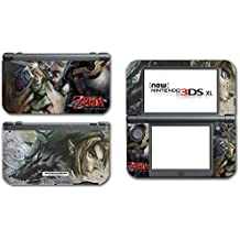Legend of Zelda Link Twilight Princess Wolf Video Game Vinyl Decal Skin Sticker Cover for the New Nintendo 3DS XL LL 2015 System Console
